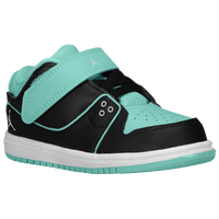 Jordan 1 Flight 2 Low - Girls' Toddler - Black / White