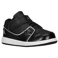 Jordan 1 Flight 2 Low - Boys' Toddler - Black / White