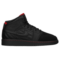 Jordan AJ 1 '99 - Boys' Grade School - Black / Red