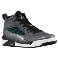 Jordan Flight 9.5 - Boys' Grade School - Grey / Dark Green
