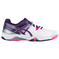 ASICS® GEL-Resolution 6 - Women's - White / Purple