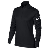 Nike Golf Thermal 1/2 Zip Cover Up - Women's - Black / White
