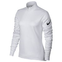 Nike Golf Thermal 1/2 Zip Cover Up - Women's - White / Black