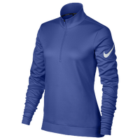 Nike Golf Thermal 1/2 Zip Cover Up - Women's - Blue / Blue