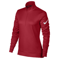 Nike Golf Thermal 1/2 Zip Cover Up - Women's - Red / White