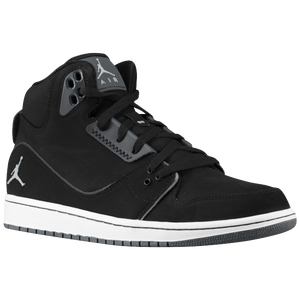 Jordan 1 Flight 2 - Men's - Black/Wolf Grey/Anthracite
