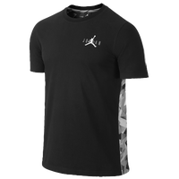 Jordan Retro 7 Printed T-Shirt - Men's - Black / Grey