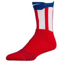 Nike Elite Versatility Crew Socks - Red / Blue