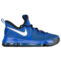 Nike KD 9 - Boys' Grade School -  Kevin Durant - Blue / White