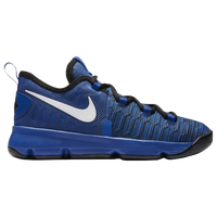 Nike KD 9 - Boys' Preschool -  Kevin Durant - Blue / White