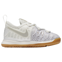 Nike KD 9 - Boys' Toddler -  Kevin Durant - Off-White / Grey