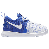 Nike KD 9 - Boys' Toddler -  Kevin Durant - Blue / White