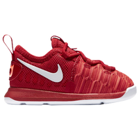 Nike KD 9 - Boys' Toddler -  Kevin Durant - Red / White