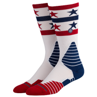 Stance Fusion Crew - Men's - White / Red