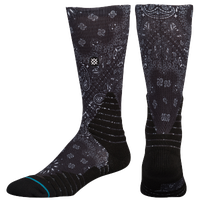Stance Fusion Crew - Men's - Black / Grey