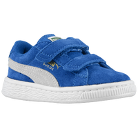 PUMA Suede Classic - Boys' Toddler - Blue / White
