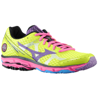 Mizuno Wave Rider 17 - Women's - Light Green / Purple