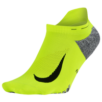 Nike Dri-FIT Elite Lightweight No Show - Light Green / Black