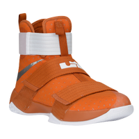 Nike LeBron Soldier 10 - Men's -  LeBron James - Orange / Silver