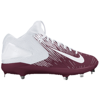 Nike Force Trout 3 Pro - Men's - Maroon / White