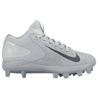 Nike Force Trout 3 Pro BG - Boys' Grade School -  Mike Trout - Grey / Black