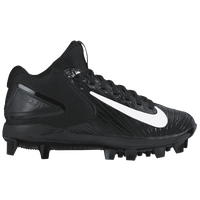 Nike Force Trout 3 Pro BG - Boys' Grade School -  Mike Trout - Black / White