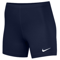 "Nike Team Ace 5"" Shorts - Women's - Navy / Navy"