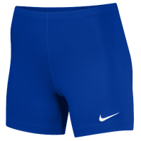 "Nike Team Ace 5"" Shorts - Women's - Blue / Blue"