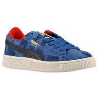PUMA Suede Classic - Boys' Preschool - Light Blue / Blue