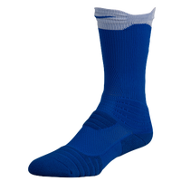 Nike Elite Versatility Crew Socks - Blue / White