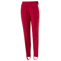 PUMA Track T7 Pants - Women's - Red / White
