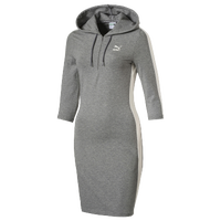 PUMA Archive T7 Dress - Women's - Grey / Off-White