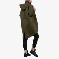 PUMA Lacing Mid-Layer Jacket - Women's - Olive Green / Olive Green