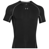 Under Armour Heatgear Armour Comp S/S T-Shirt - Men's - Black / Grey