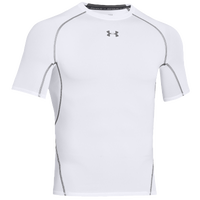 Under Armour Heatgear Armour Comp S/S T-Shirt - Men's - White / Grey