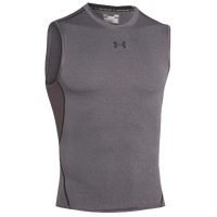Under Armour HeatGear Armour Compression S/L Shirt - Men's - Grey / Grey