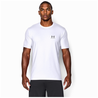 Under Armour Sportstyle Logo T-Shirt - Men's - White / Grey