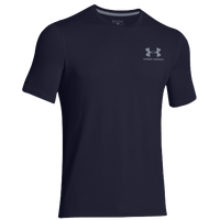 Under Armour Sportstyle Logo T-Shirt - Men's - Navy / Grey