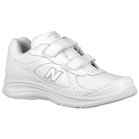New Balance 577 Hook & Loop - Men's - All White / White