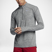 Nike Dri-FIT Element 1/2 Zip - Men's - Grey / Grey