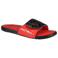 Under Armour Micro G EV II Slide - Men's - Black / Red