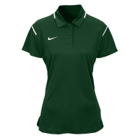Nike Team Gameday Polo - Women's - Dark Green / White