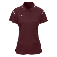 Nike Team Gameday Polo - Women's - Maroon / White