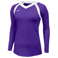 Nike Team Agility Jersey - Women's - Purple / Purple