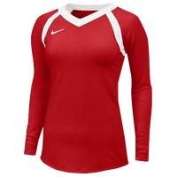 Nike Team Agility Jersey - Women's - Red / White