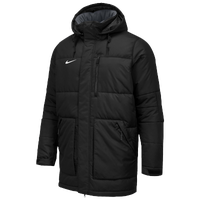 Nike Team Alliance Parka II - Men's - All Black / Black