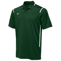 Nike Team Gameday Polo - Men's - Dark Green / White