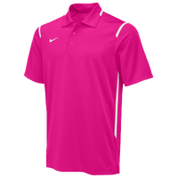 Nike Team Gameday Polo - Men's - Pink / White
