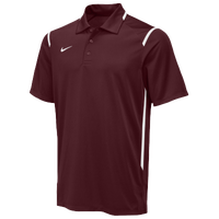 Nike Team Gameday Polo - Men's - Maroon / White