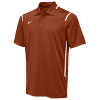 Nike Team Gameday Polo - Men's - Orange / White